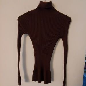 Body Central Brown Long Sleeve Sweater - M